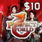 Perfect World $10 Prepaid Game Card